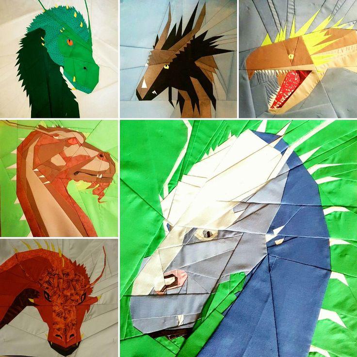 Dragon Quilt Adventure Halloween Quilt Patterns Animal