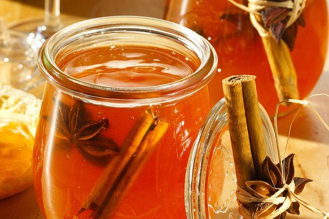 Apfel-Gelee mit Calvados