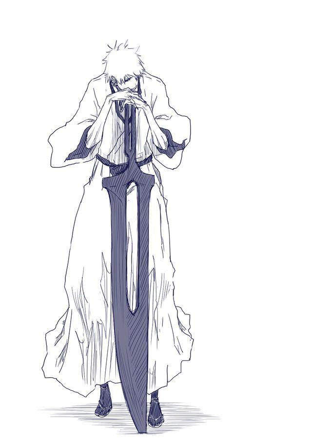 consejos y recomendaciones para dibujo de bleach. zaraki kenpachi by ...