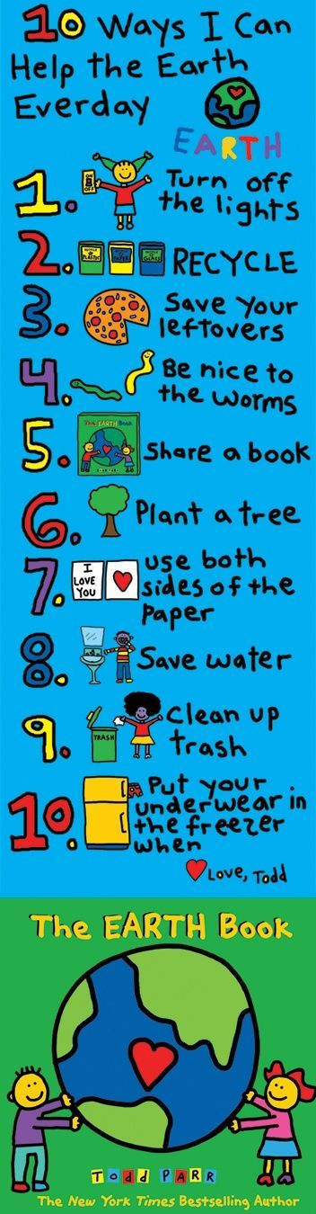 Every one of us can help protect the earth and make it feel good. Remember: if w… – mix