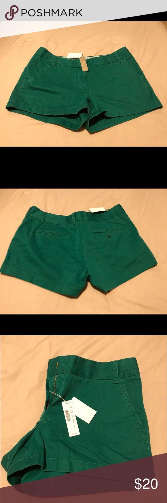 Women green short New women green short J. Crew Shorts Skorts