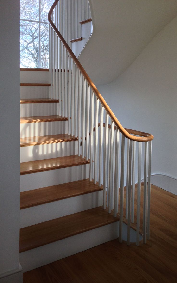 Shaker Style Staircase Greenwich London Rozeman