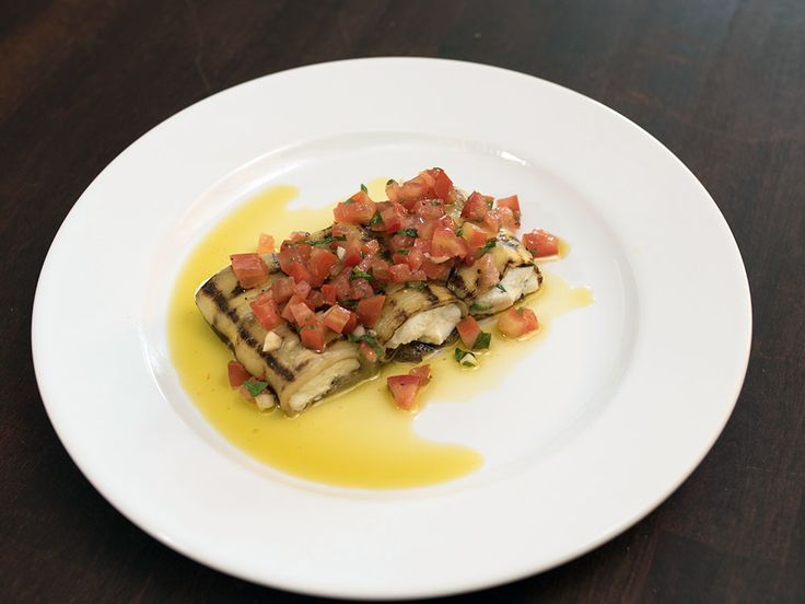 Eggplant Rolls Stuffed with Ricotta - Rollatini di Melanzane