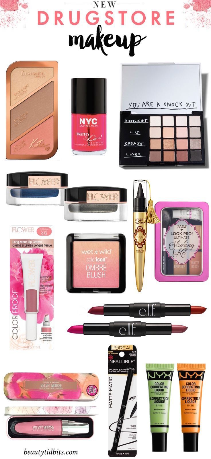 Here's a little taste of what's new in drugstore makeup! You're going to want to get your hands on most, if not all, of these new beauty products.