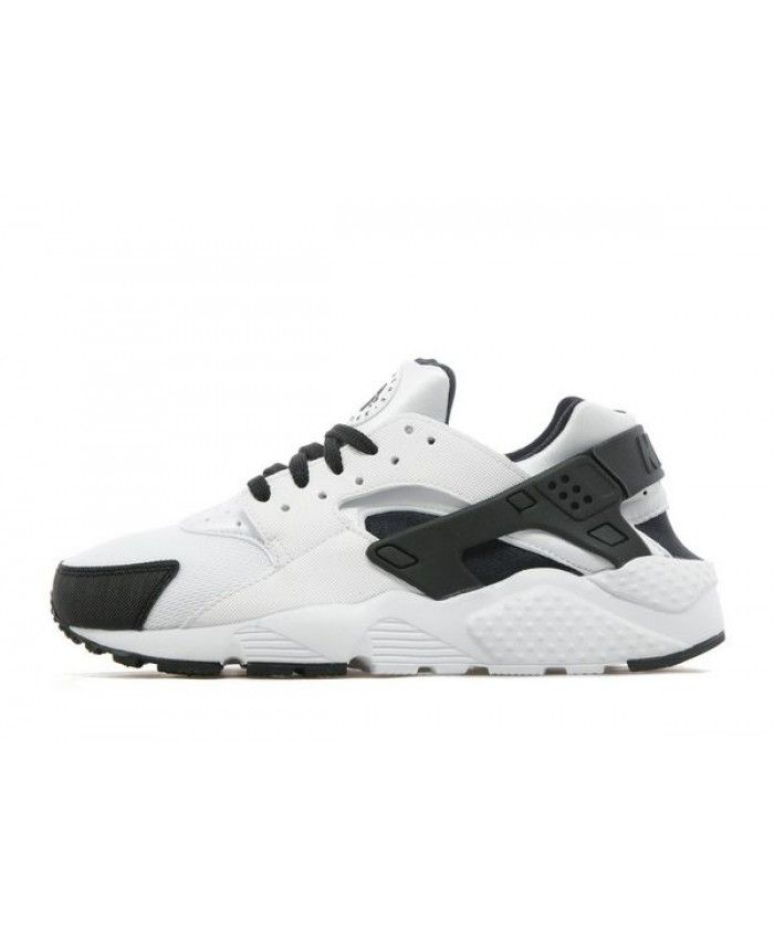 Nike Air Huarache Junior Black White Trainers