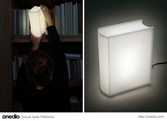 Kitap formunda lamba