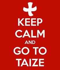 Taize--if you ever have an opportunity to attend a Taize prayer service, GO! It is beautiful!