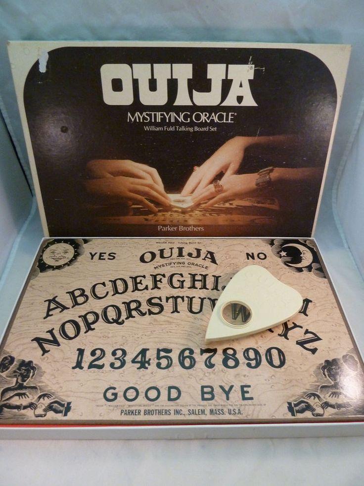 Vintage Ouija Board Game 1972 Mystifying Oracle William Fuld Parker Brothers