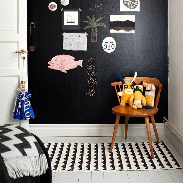 News from Brita Sweden, Gittan rug in black  http://royaldesign.com/EU/viewitem.aspx?ID=95288  #britasweden #news #designnews #trend #trends #autumntrend #rugs #rug #interiordesign #design #decor #homedecor #insporation #inredning #heminredning #designtrend #designtrends