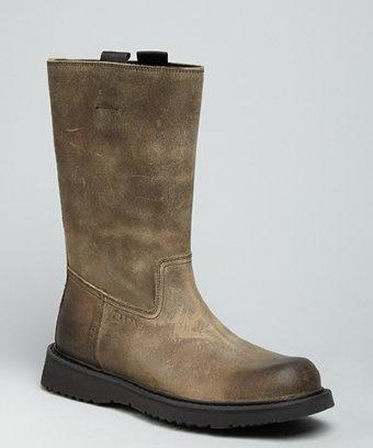#Prada #love  #distressed #leather #'Commander': Distressed Leather, Leather Command, Men Prada, Gipsea Gentlemen, Prada Boots, Clothessho, Cowboys Boots, Mens Prada, Boots Distressed