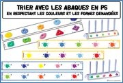 Maternelle : Tri abaques - Nathan