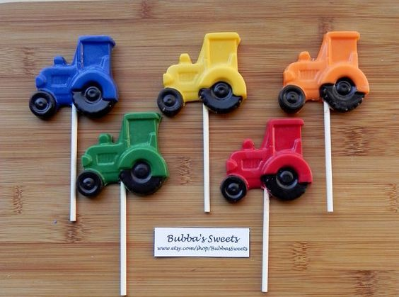 TRACTOR Pops - TRACTOR Party/RODEO Party/John Deere Birthday/Rodeo Birthday/Farm Birthday on Etsy, $15.00