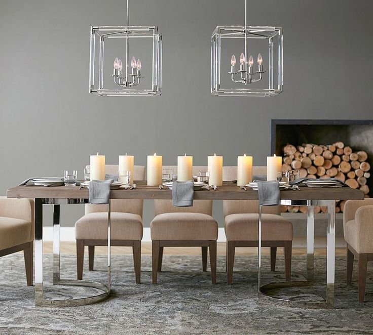 Durham Reclaimed Wood Fixed Dining Table