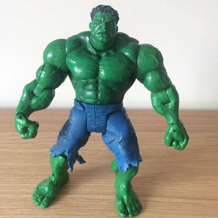 """The #incredible hulk 7"""" figure - #marvel 2003 hulk #movie - articulated hulk smas,  View more on the LINK: http://www.zeppy.io/product/gb/2/371742216295/"""