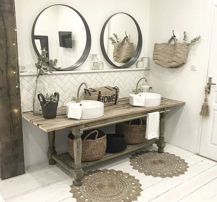 Bathroom Vanity/ Double Vanity/ Vanity/ Farmhouse Bathroom
