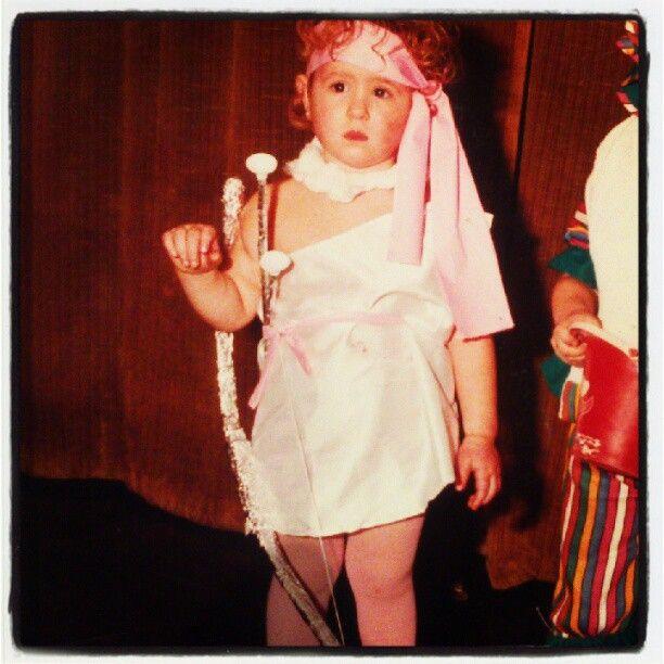 Sweet cupid baby.. Cupid. Saint valentine costume.