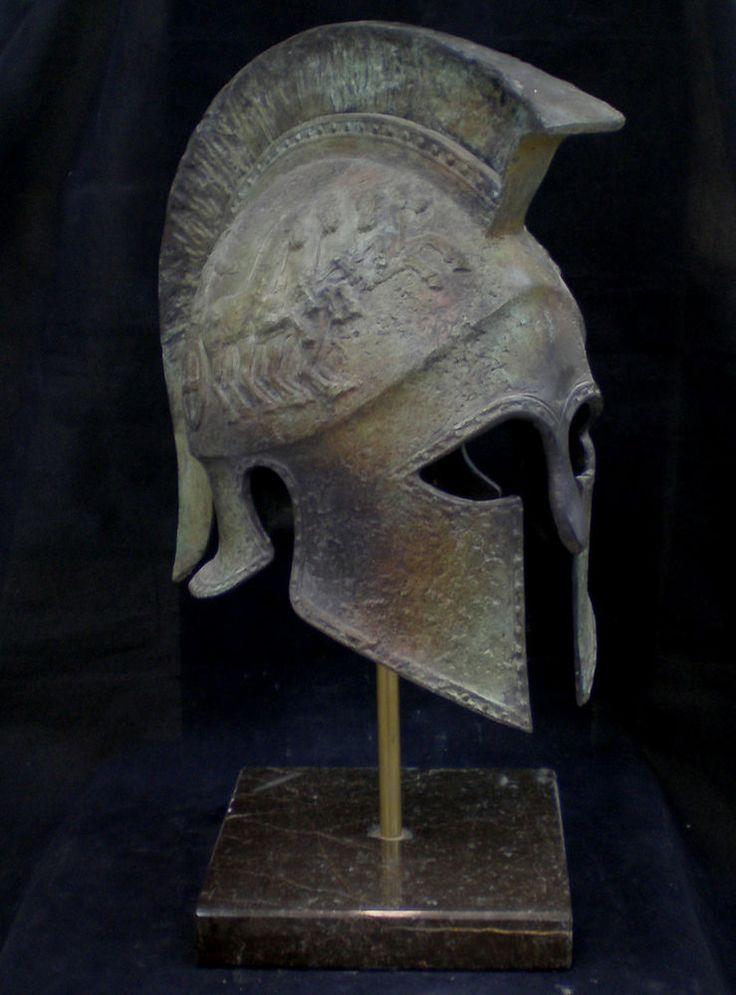 Ancient Greek War Helmets