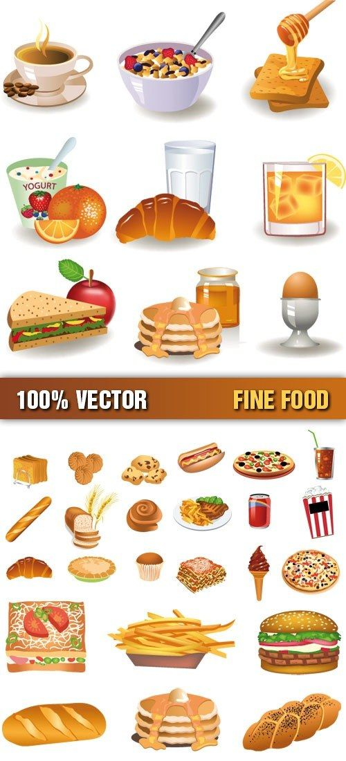 13 best images about food clipart on pinterest soft for Artistic cuisine menu
