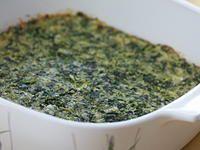 http://www.cookstr.com/Casserole-Recipes/Cheesy-Spinach-Bake