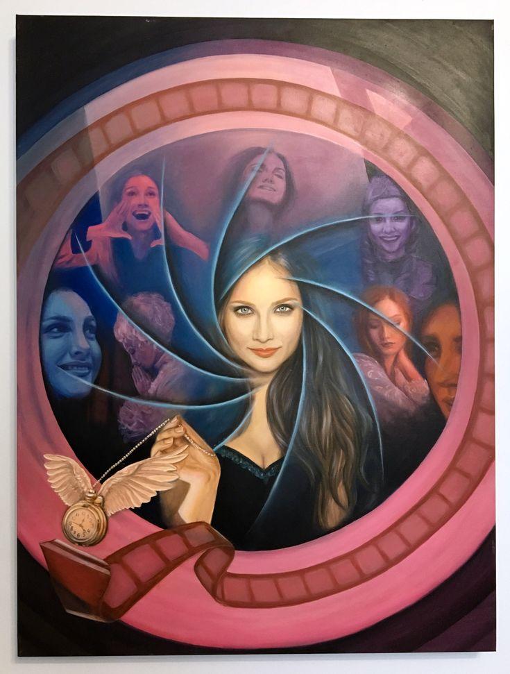 #рисунок #картина  #искусство  #art #painting #drawing #illustration #life #actress Painting by Yulia Malahova https://www.instagram.com/amita_art