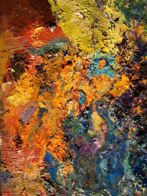 Gypsy. Oil on wooden board by Jesus Ojeda.