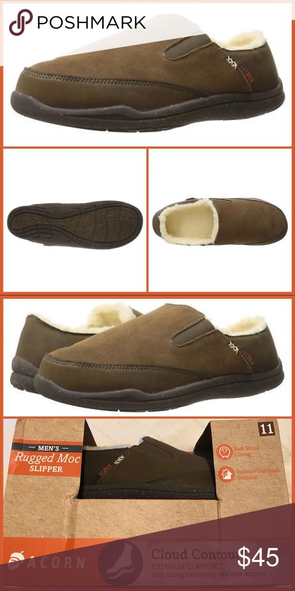 Final Price Acorn Crosslander Moc Slipper Men 11 Nwt Mens Slippers Acorn Shoes Men