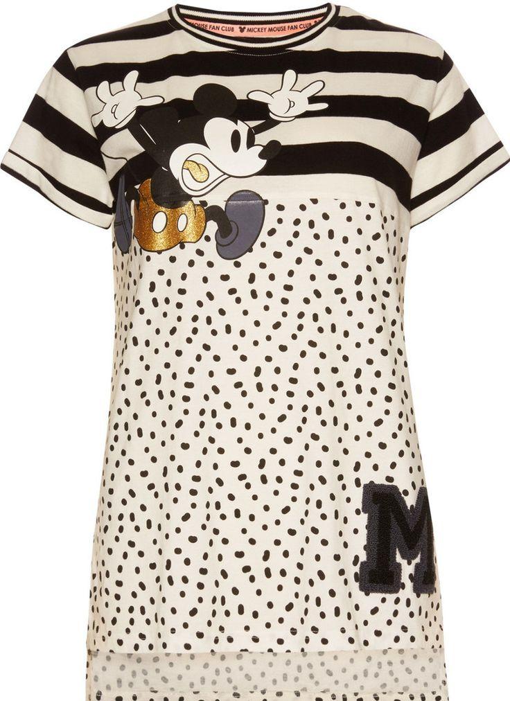 £9.99 PRIMARK MICKEY MOUSE T-Shirt PJ Disney Sizes 6 - 20 new
