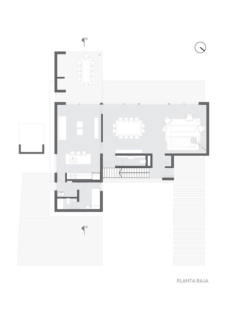 Imagem 25 de 31 da galeria de Residência CI336 / BAM! arquitectura. Planta - Térreo