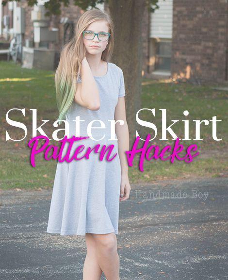 Skater Skirt pattern hacks.  https://www.lovenotions.com/skater-skirt-release-freebie