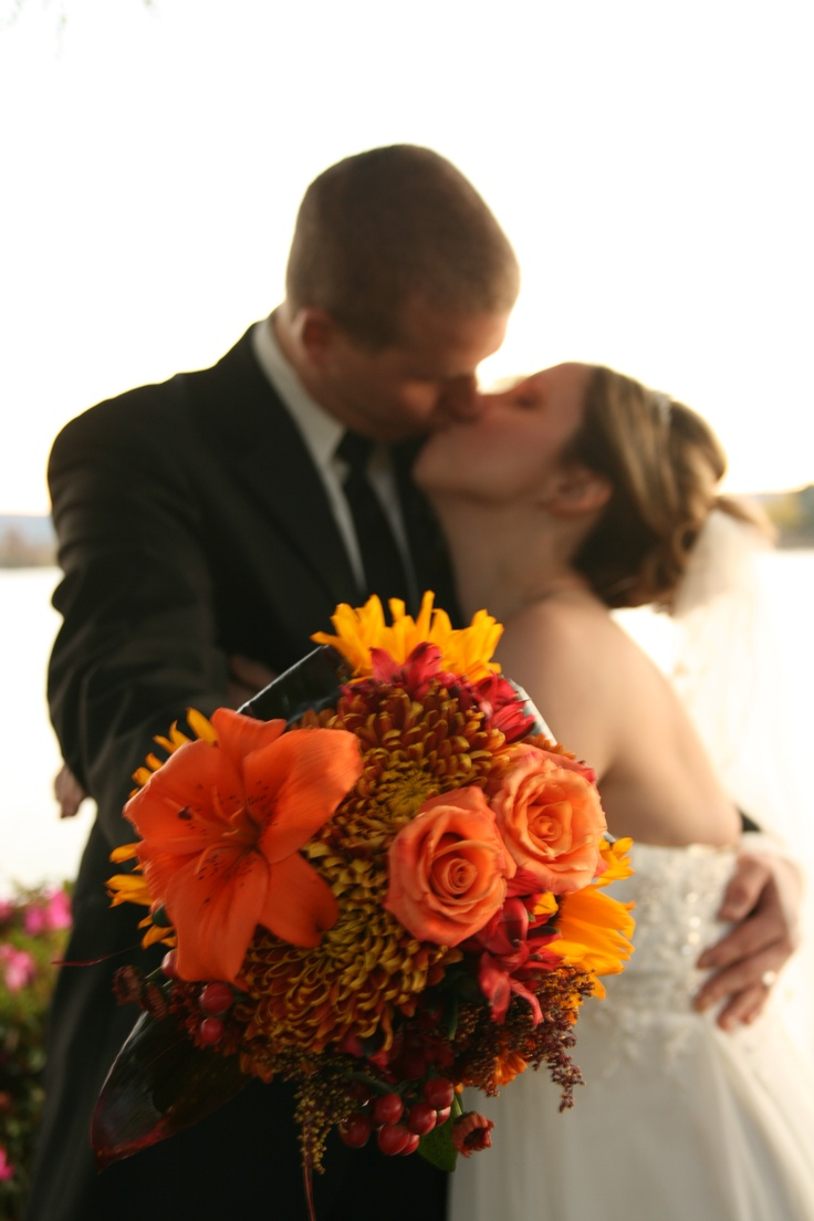 23 best romantic hot springs getaway wedding personality images this couple and the colorful bouquet make autumn the new season of love lookoutpoint hot springsarkansaswedding flowersbouquets dhlflorist Choice Image