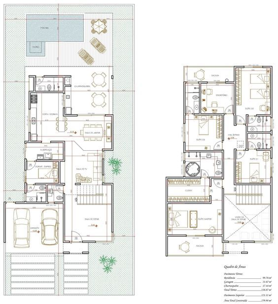 261 best planos images on Pinterest Floor plans, Arquitetura and