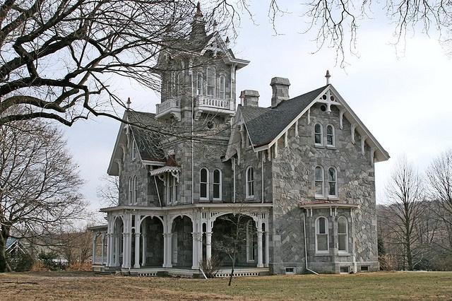 Lockwood Estate, California 1865 Gothic Revival Home