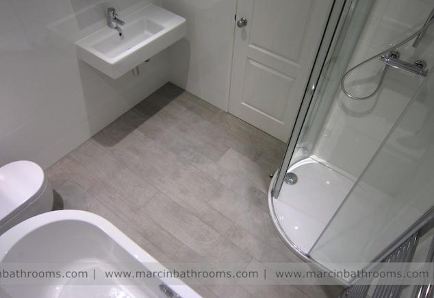 Porcelanosa wood effect floor tiles - Oxford #porcelanosa #marcinbathrooms