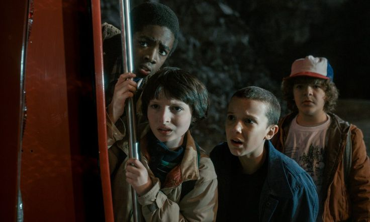 Stranger Things  Their faces represents my emotions throughout Season 1! Loved it