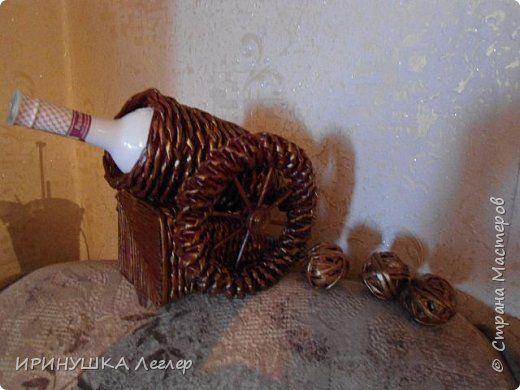 Поделка изделие Плетение накопилось  Бумага газетная фото 2