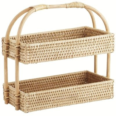 Barrett 2-Tier Basket {perfect for bathroom}