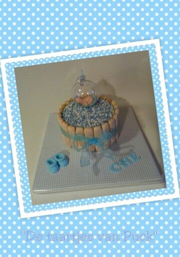 Baby cake / geboorte taart