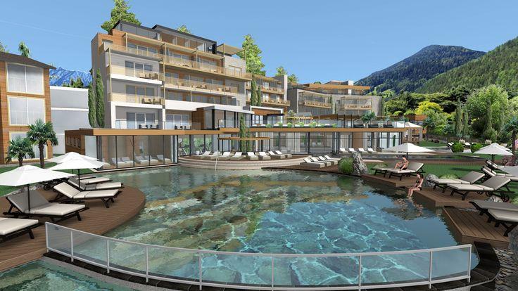 Das Alpiana Resort in Völlan/Lana bei Meran L'Alpiana Resort a Foiana/Lana presso Merano