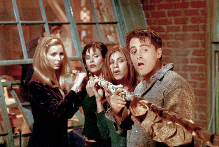 Phoebe,Monica,Rachel and Joey