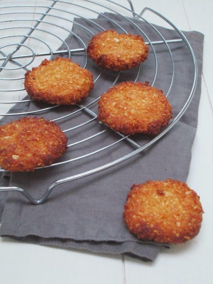 Kokoskoekjes! Glutenvrij, zuivelvrij en vrij van geraffineerde suikers.