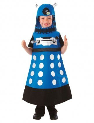 Christys Dress Up - Disfraz de Dalek de Doctor Who (3 a 5 años): Amazon.es: Juguetes y juegos