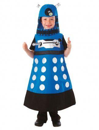 Christys Dress Up - Disfraz de Dalek de Doctor Who (3 a 5 años): Amazon.es: Juguetes y juegos
