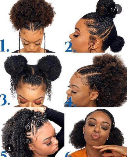 Remark faire des cheveux naturels moins de temps