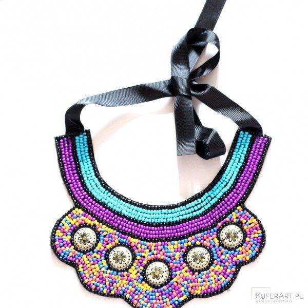 Towar ze wschodu wart zachodu naszyjnik - Naszyjniki, korale - Biżuteria artystyczna