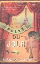 #BarbaraCleverly  Folly du Jour (Joe Sandilands Murder Mystery) [Kindle Edition] - Folies Bergere, Paris, December 1926& Joe hurries to the assistance of an old friend who has been arrested for murder. In a cell of the Quai des Orfevres he meets with Sir George Jardine, still in the evening dress stained with the blood of the dead man. The only other witness, a blonde who was sharing the victim's box, has vanished. Assistance for Joe comes from an entirely unexpected quarter - Francine,