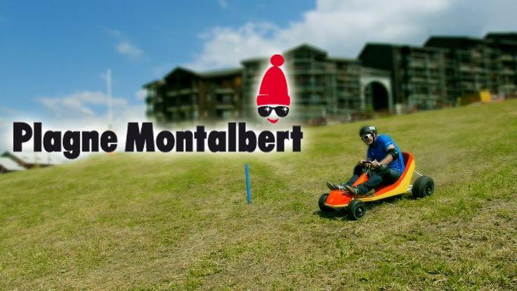 Nouveau Dévalkart @ Plagne Montalbert - #Mountain #Karting