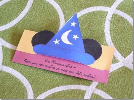 Mousekeeping Tip Envelope