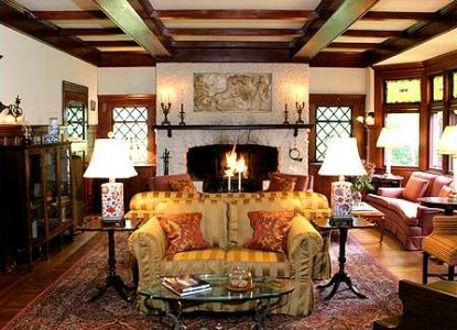 Country Manor Living Room