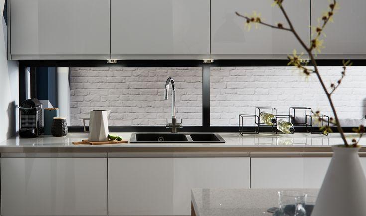 The 25 best grey gloss kitchen ideas on pinterest light for Kitchen ideas grey gloss