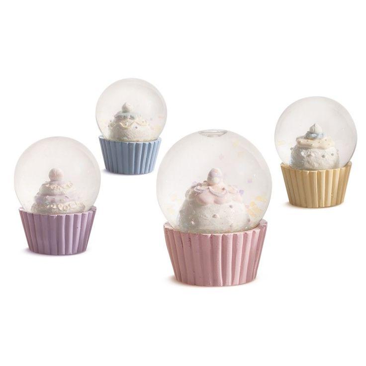 Μπομπονιέρα Βάπτισης Cupcakes Νερόμπαλες.